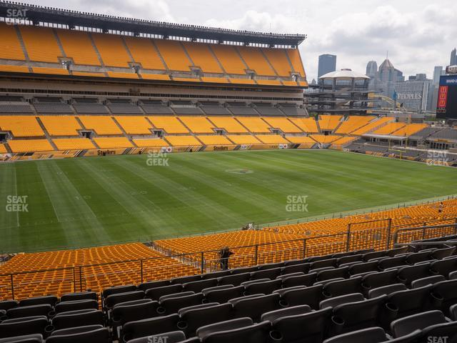 Heinz Field Section 231 view