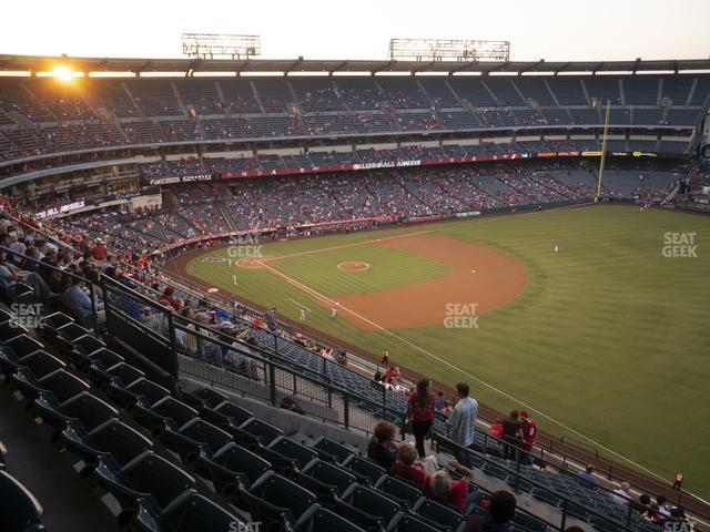 Angel Stadium of Anaheim Section 533 view
