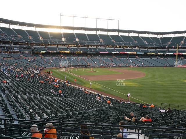 Oriole Park at Camden Yards Section 7 view