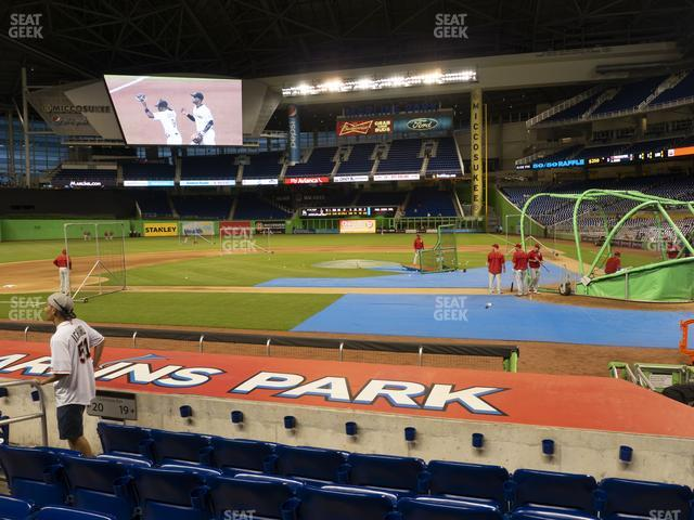 Marlins Park Section 19 view