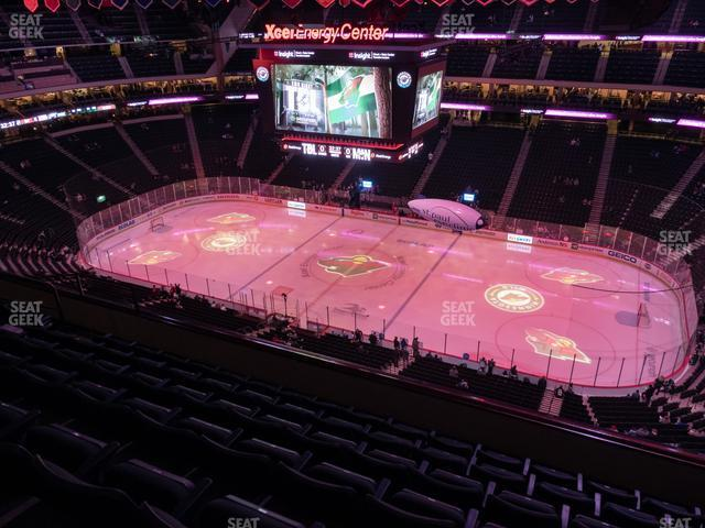 Xcel Energy Center Section 202 view