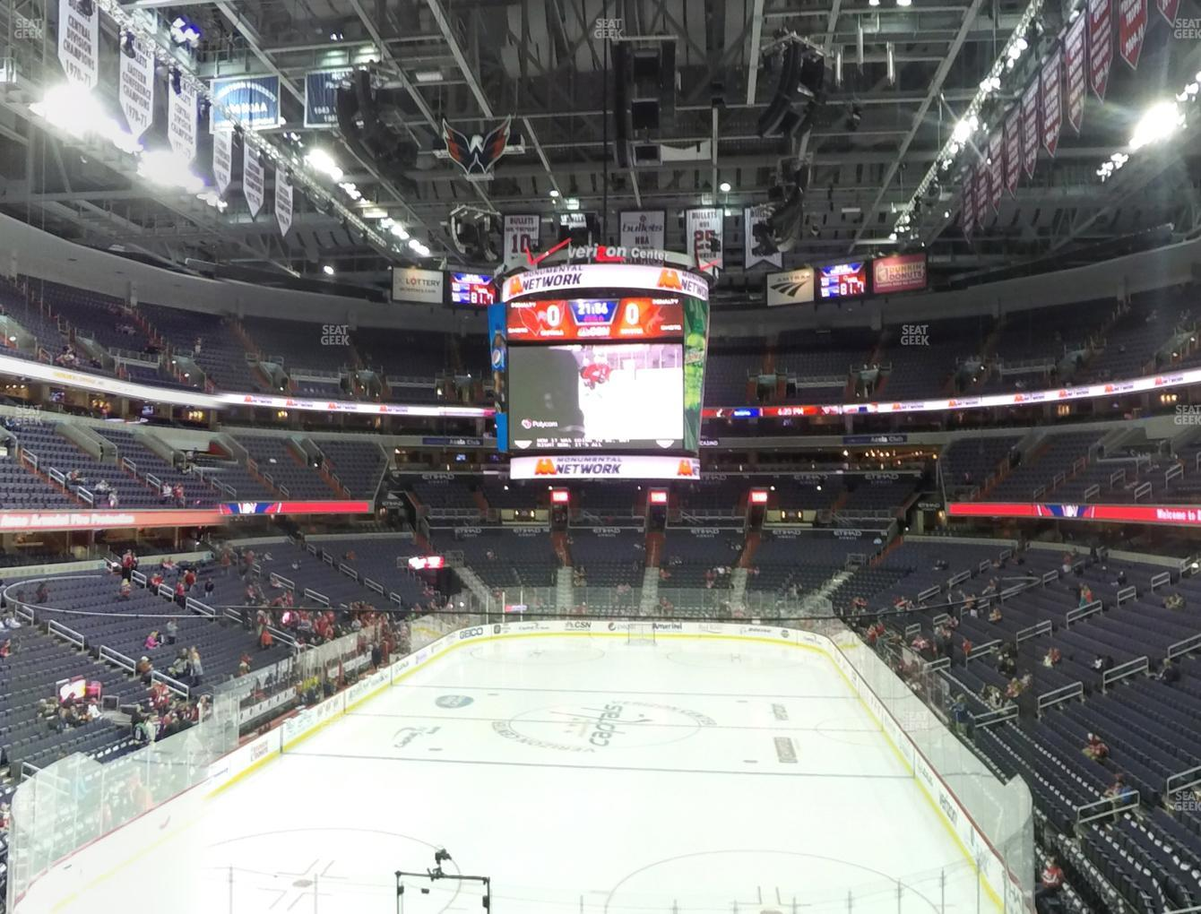 Washington Capitals at Capital One Arena Suite 106 View