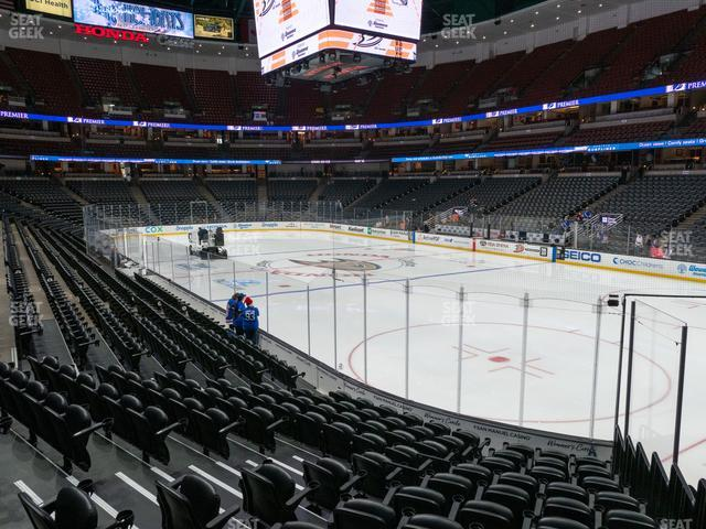 Honda Center Section 218 view