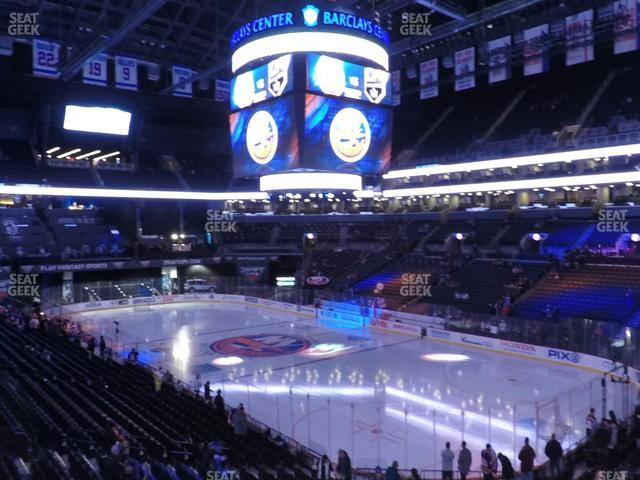 Barclays Center Section 120 view