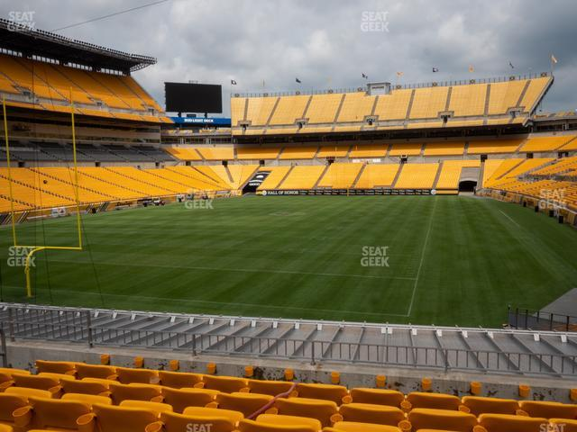 Heinz Field Section 152 view