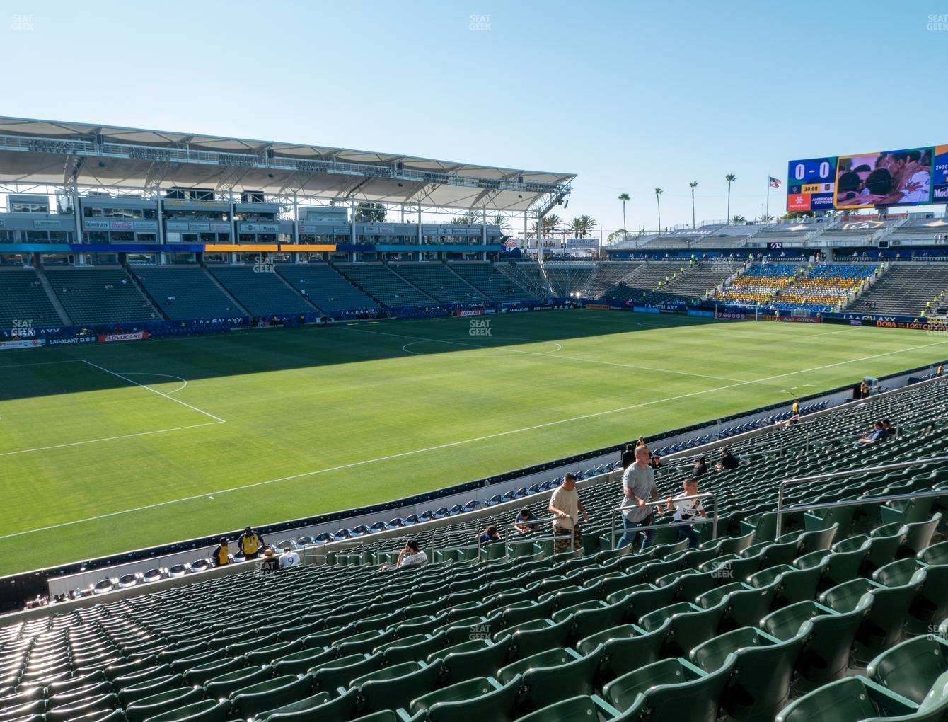 Dignity Health Sports Park Section 136 Seat Views | SeatGeek