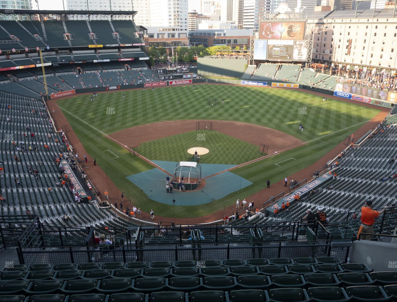 Baltimore Orioles at Oriole Park at Camden Yards Section 334 View