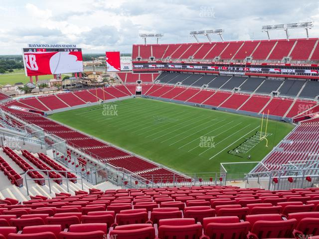 Raymond James Stadium Section 317 view