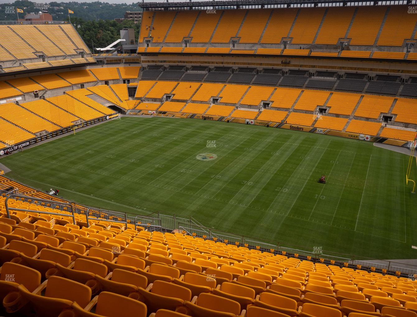 Pittsburgh Steelers at Heinz Field Section 538 View
