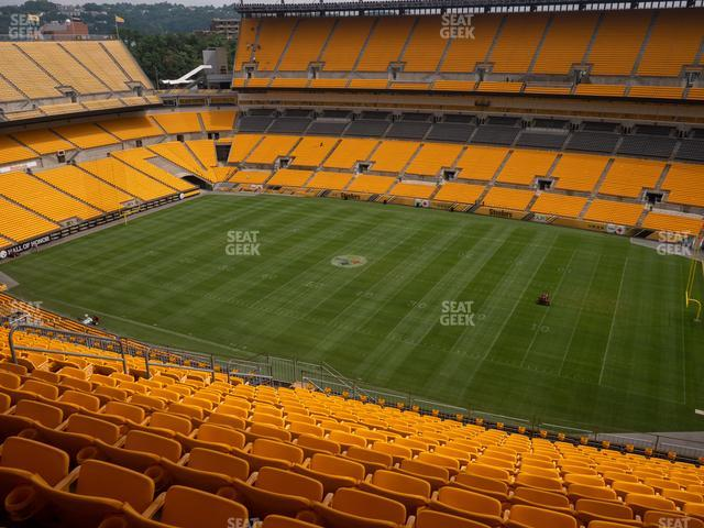 Heinz Field Section 538 view