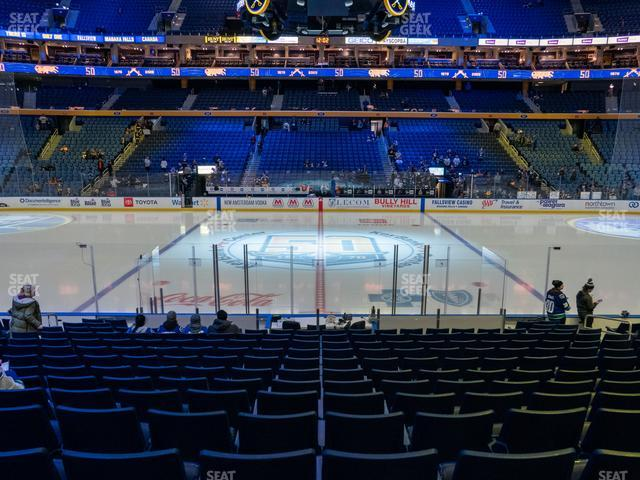 KeyBank Center Section 117 view