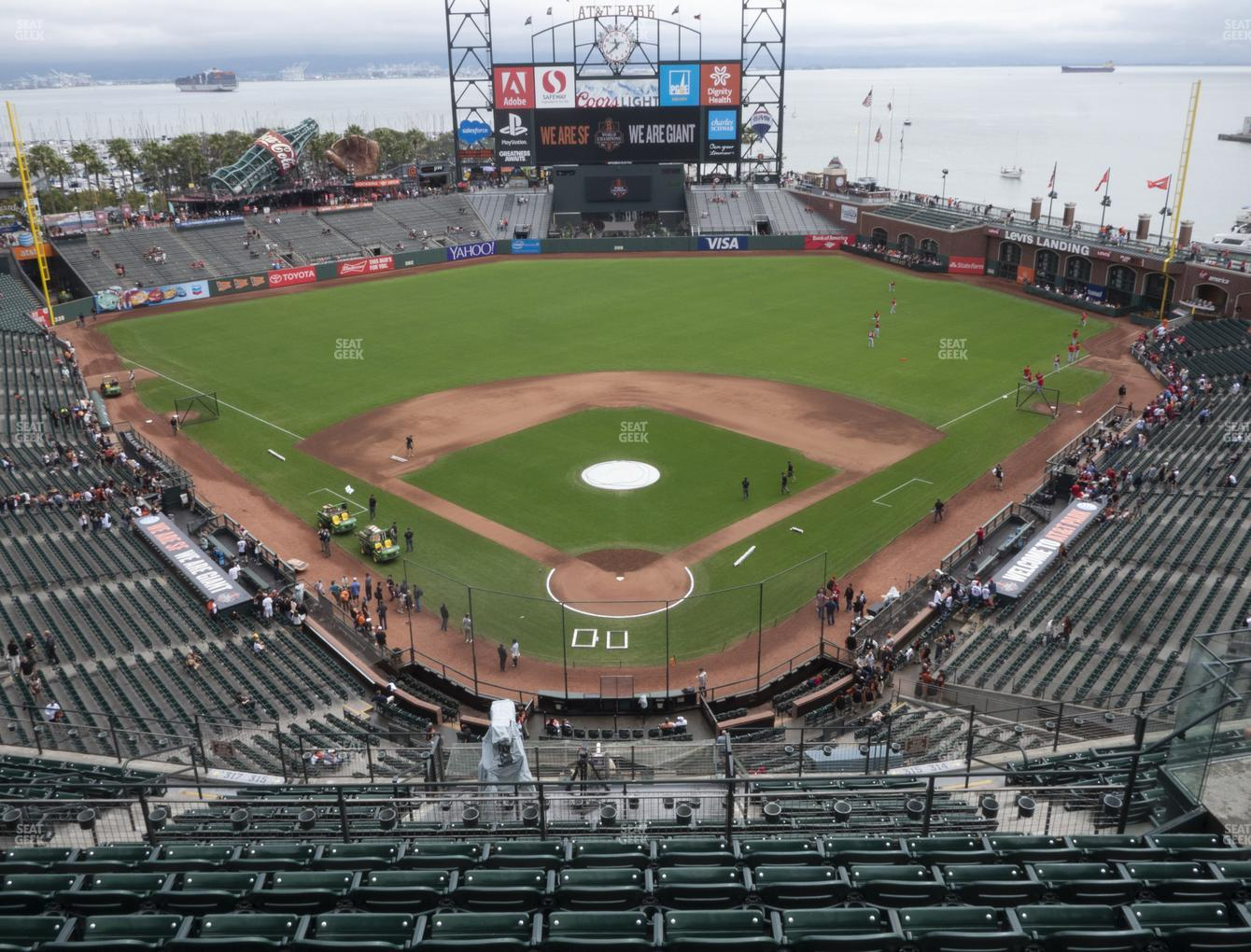 San Francisco Giants at Oracle Park Section 315 View