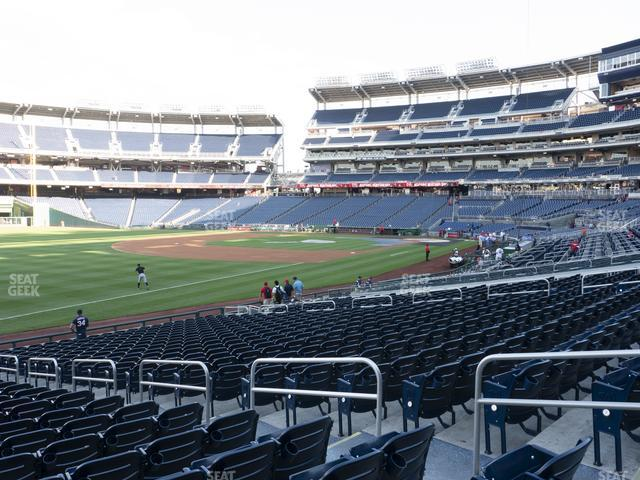 Nationals Park Section 110 view