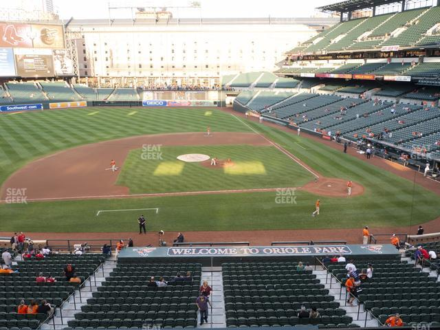 Oriole Park at Camden Yards Section 248 view
