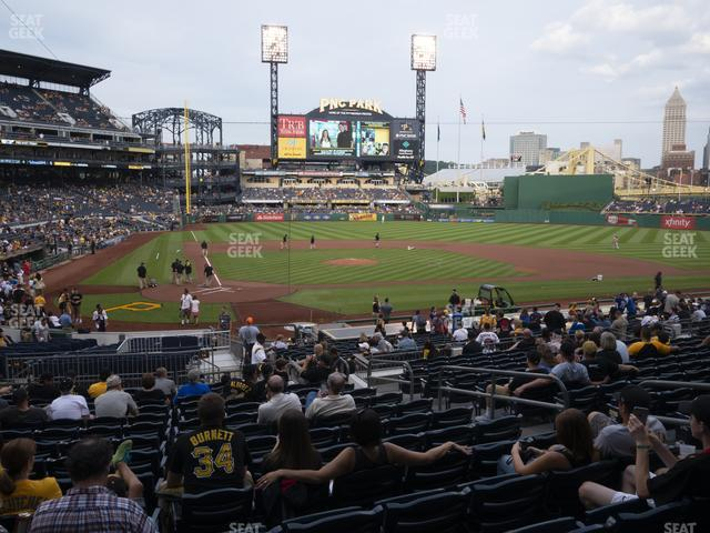 PNC Park Section 114 view