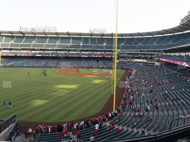Angel Stadium of Anaheim Section 301 view