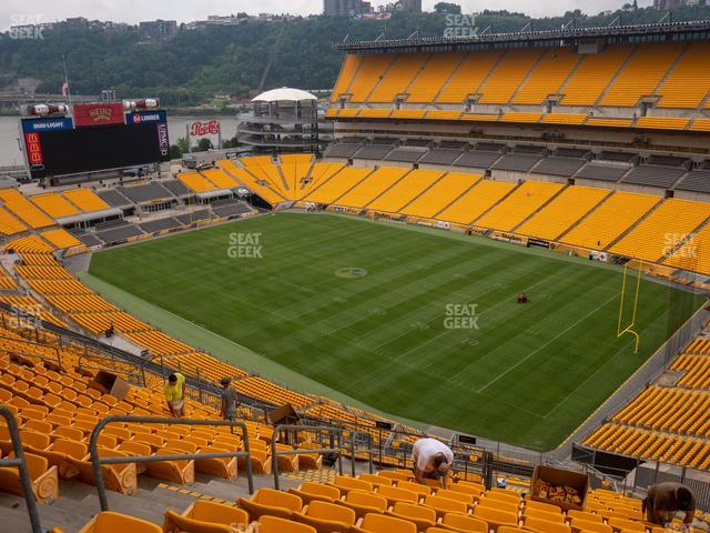 Heinz Field Section 517 view