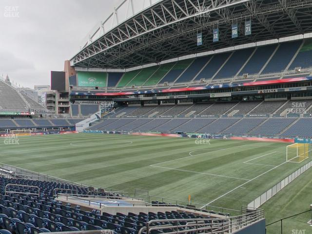 CenturyLink Field Section 129 view