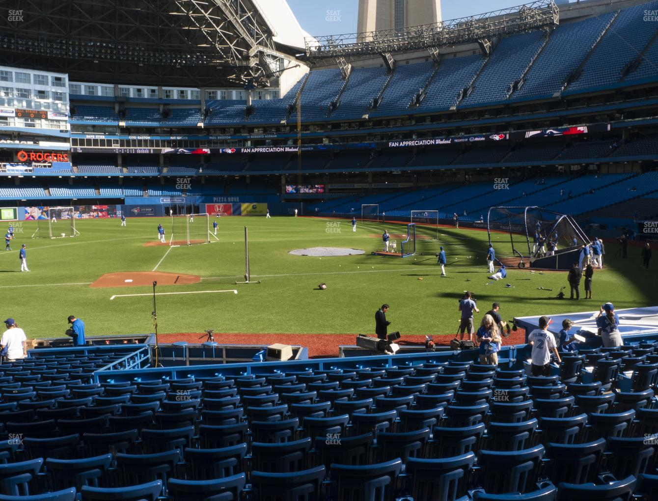Toronto Blue Jays at Rogers Centre Section 127 R View