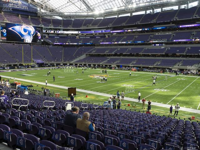 U.S. Bank Stadium Section 106 view