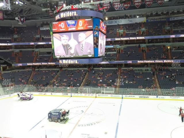 Capital One Arena Section 201 view