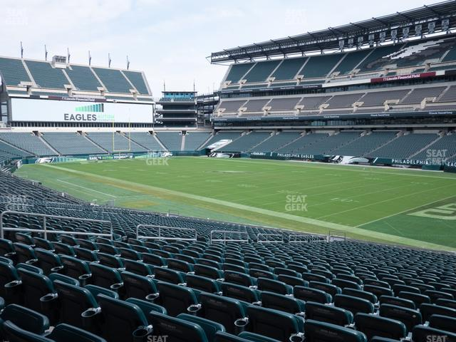 Lincoln Financial Field Section 105 view