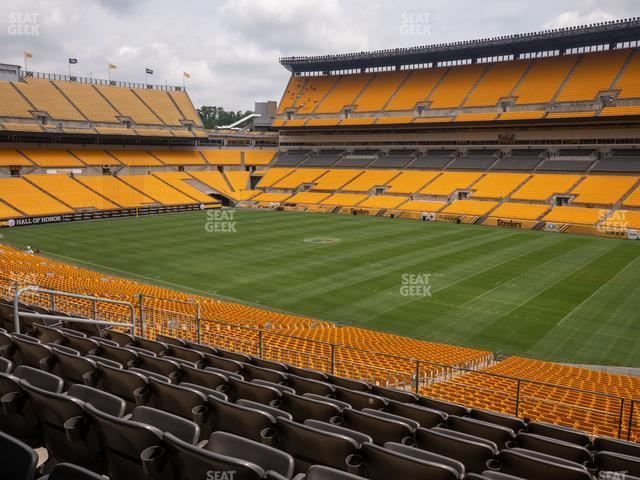 Heinz Field Section 239 view