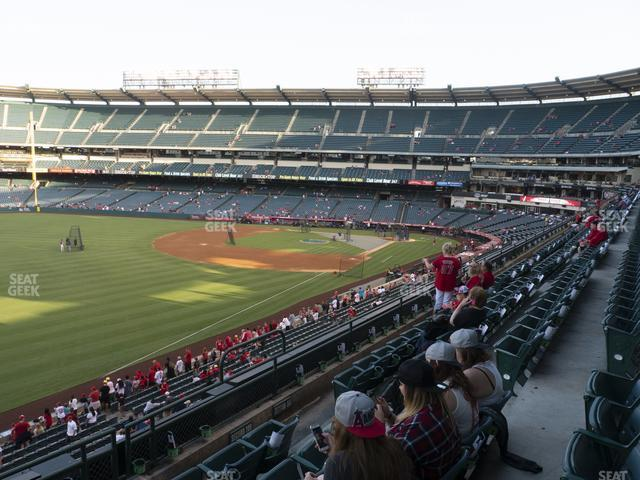Angel Stadium of Anaheim Section 306 view