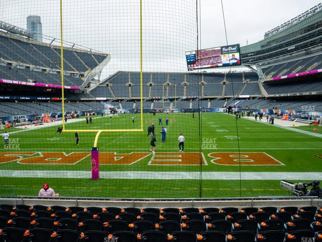Soldier Field Section 122 view