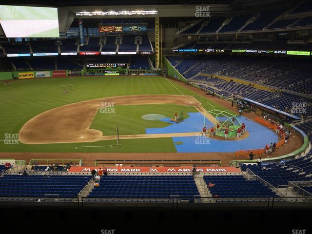 Marlins Park Section 220 view