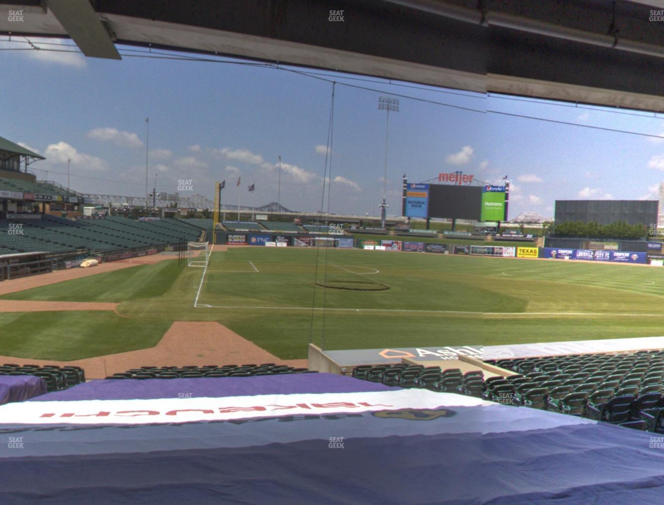 Louisville Slugger Field Section 112 Seat Views Seatgeek