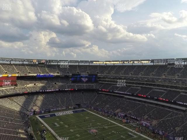 MetLife Stadium Section 306 view