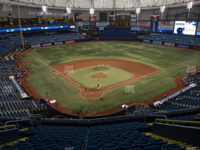 Tropicana Field Section 302 view