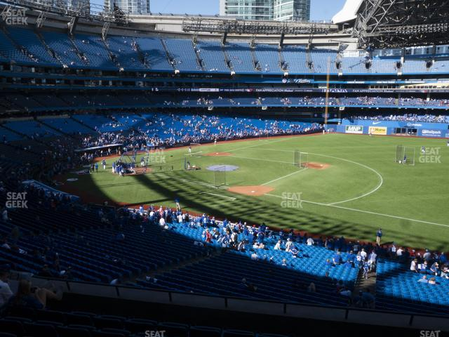 Rogers Centre Section 215 R view