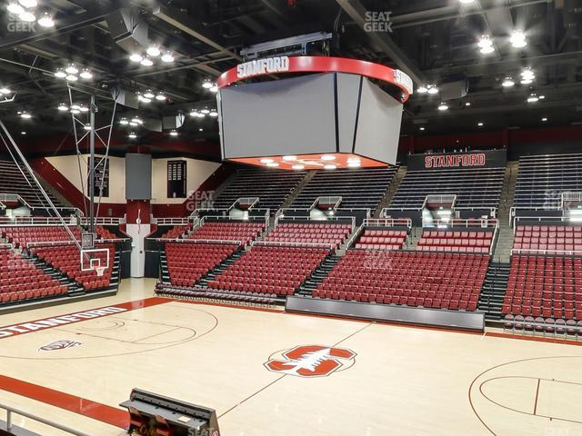 Maples Pavilion Section 12 view