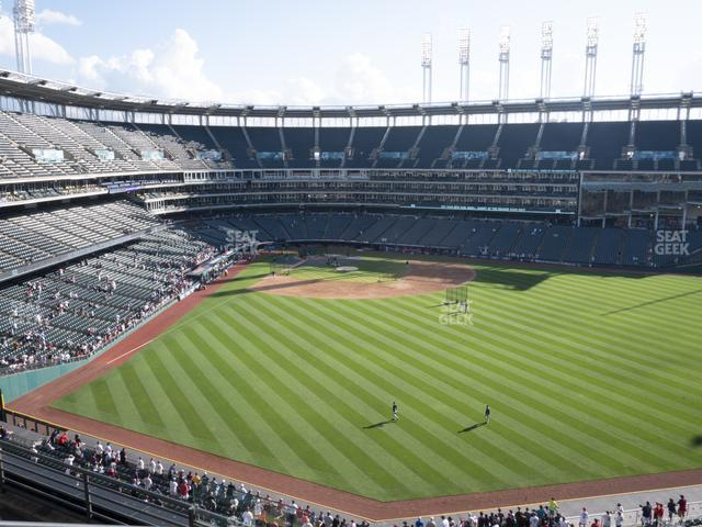Progressive Field Section 405 view