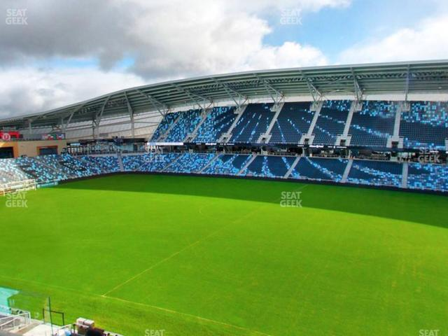 Allianz Field Section 130 view
