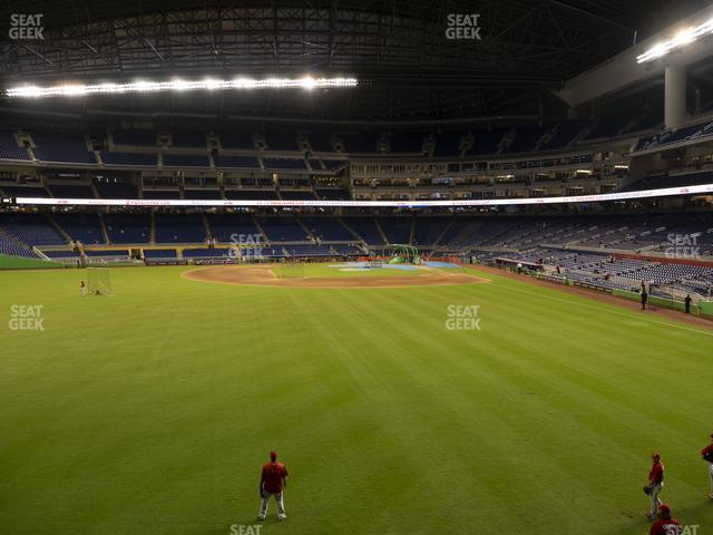Marlins Park Section 32 view