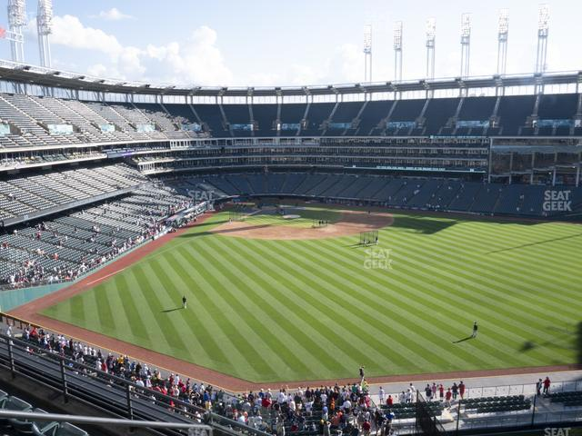 Progressive Field Section 403 view