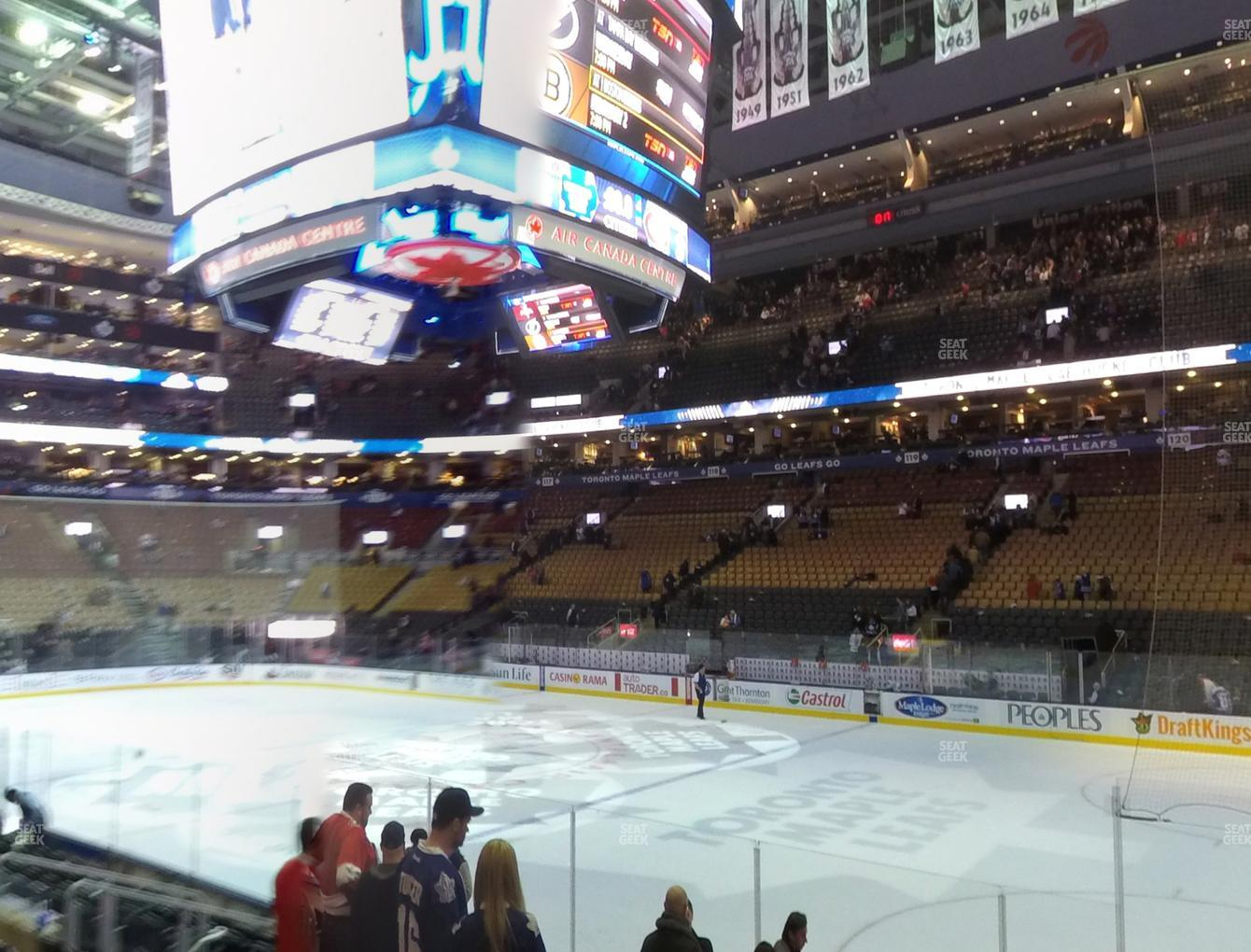 Toronto Maple Leafs at Scotiabank Arena Section 106 View