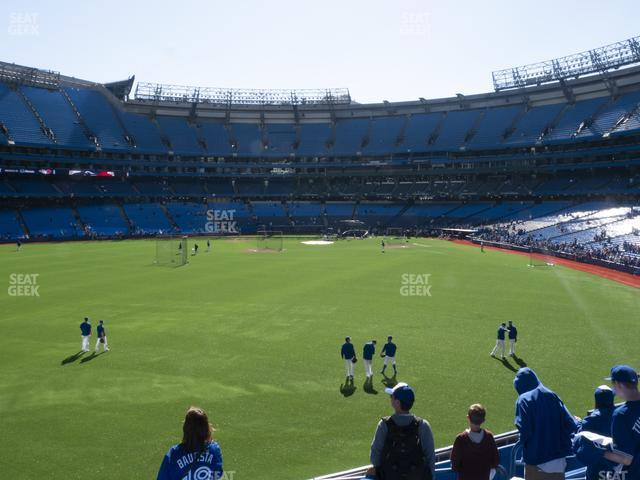 Rogers Centre Section 138 L view