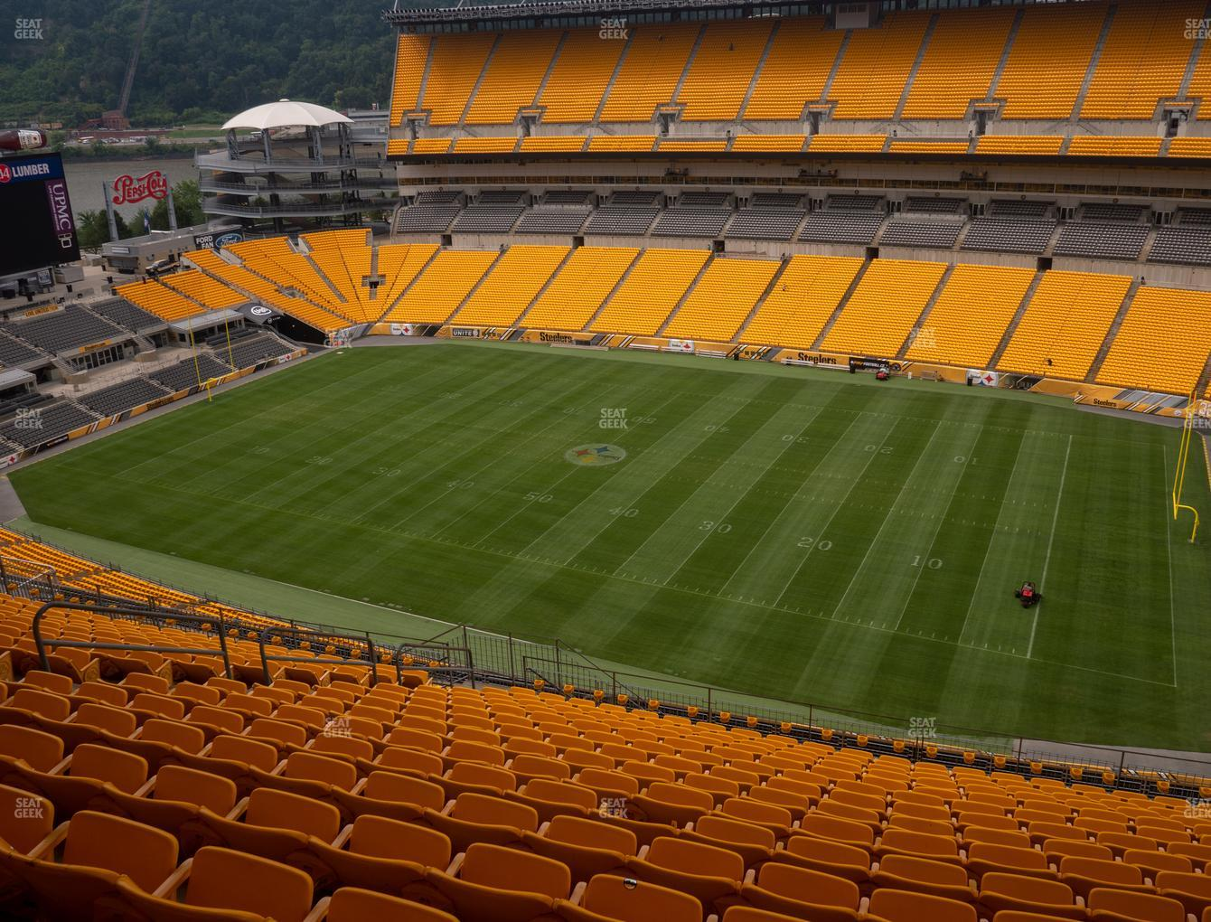 Pittsburgh Steelers at Heinz Field Section 514 View