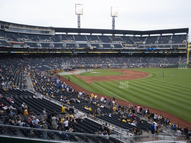 PNC Park Section 147 view