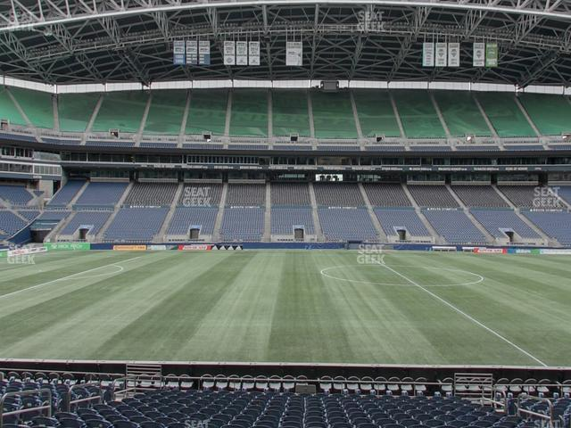 CenturyLink Field Section 110 view