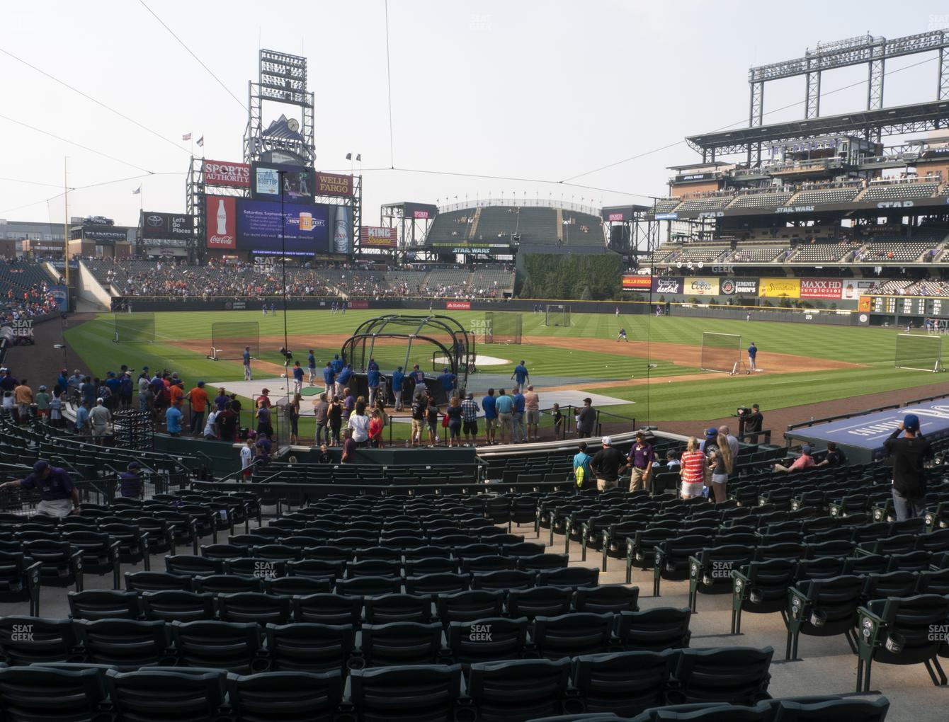 Coors Field Section 129 Seat Views Seatgeek