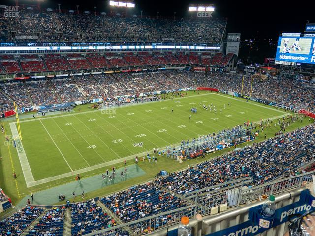 Nissan Stadium Section 339 view