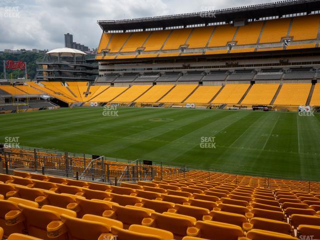 Heinz Field Section 113 view