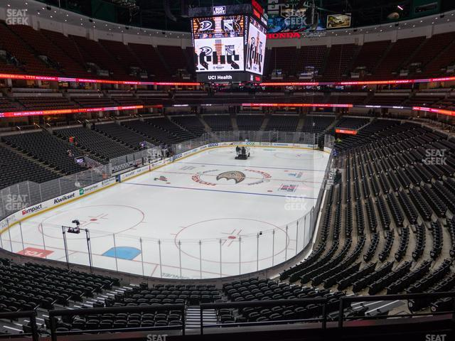 Honda Center Section 325 view
