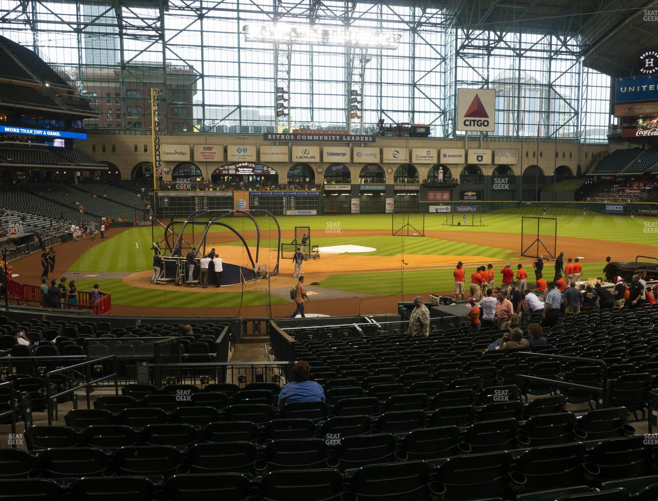 Minute Maid Park Section 122 Seat Views Seatgeek