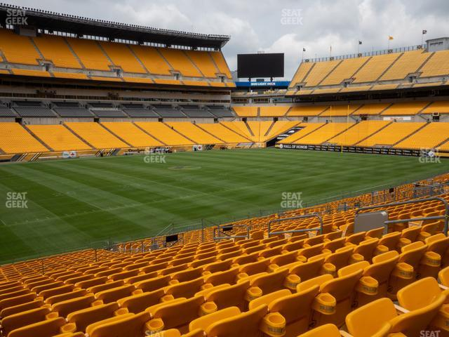 Heinz Field Section 107 view